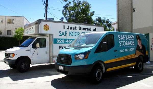 Self Storage Units On Melrose Ave In Los Angeles Ca Saf Keep