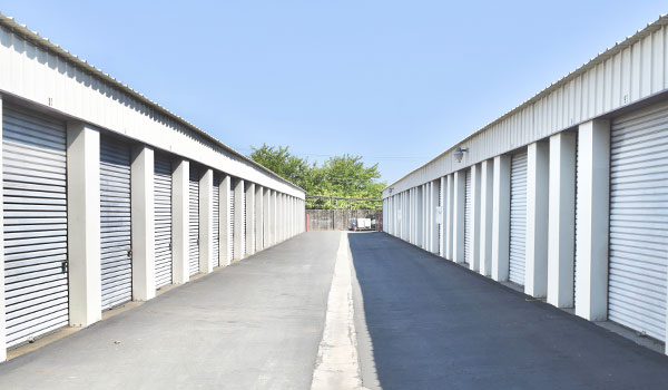 Drive-up units at Fremont Mini Storage