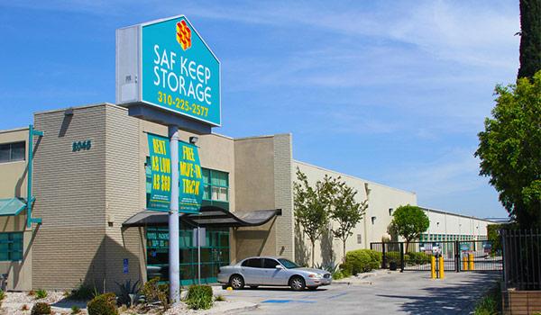 Storage Facility Front View in Gardena, CA